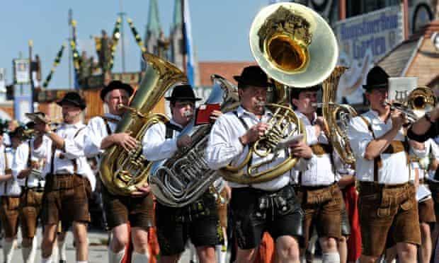Brass band Oktoberfest