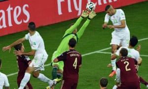Moments later, Akinfeev fails to gather a cross and Slimani heads home.