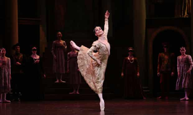 Tamara Rojo plays Juliet: a 'journey of growing up and also of loss of innocence'
