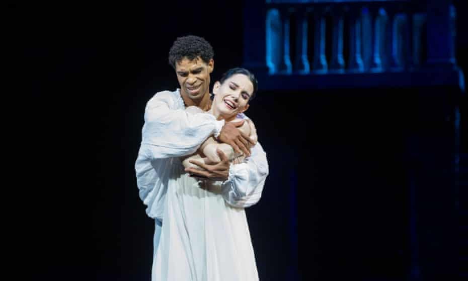 Tamara Rojo and Carlos Acosta perform in the English National Ballet's 2014 production of Romeo and Juliet in London.