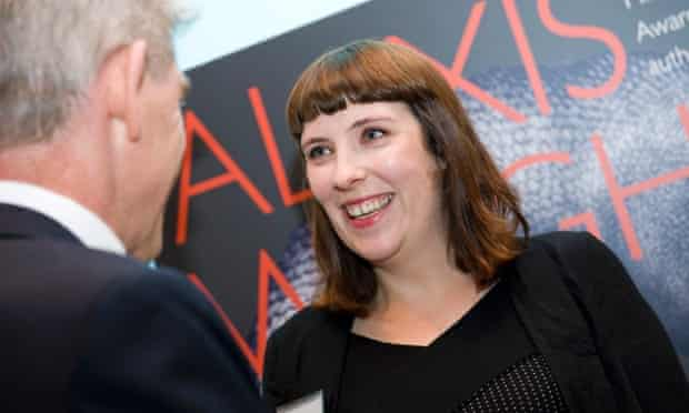 Evie Wyld, winner of the 2014 Miles Franklin Award.