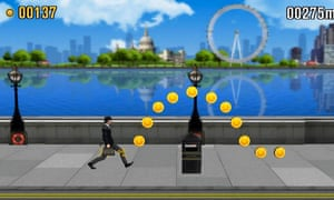 Monty Python's Ministry of Silly Walks sketch has been reborn as a mobile game.