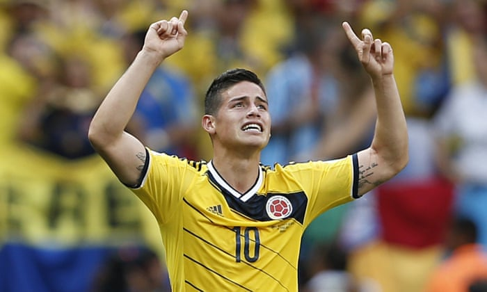 san francisco 2a0e2 15b44 James Rodríguez: the meteoric rise of a new Colombian ...