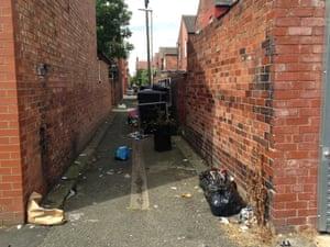 Moss Side alley