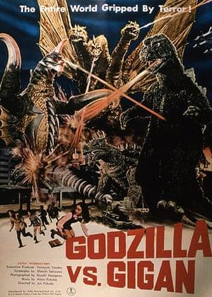 Godzilla: Godzilla vs. Gigan poster