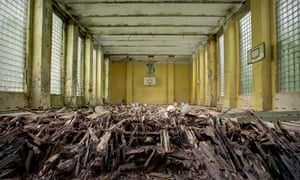 Empire in decay: Military Base - East Germany.