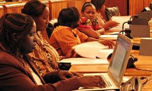 Rwanda's female-majority parliament