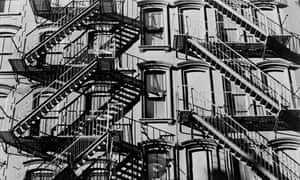 A tenement building on the Lower East Side, New York City. 1966.
