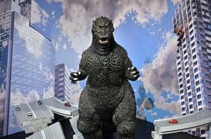 Godzilla: Godzilla art exhibition in Tokyo