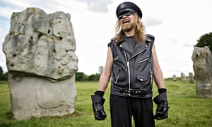 Julian Cope at Avebury stone circle
