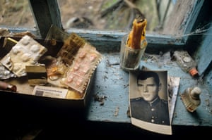 The Long Shadow of Chernobyl: When Soviet authorities finally ordered the evacuation, the residents hasty departure often meant leaving behind their most personal belongings.