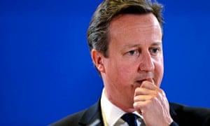 David Cameron in Brussels, running out of options on 27 June 2014.