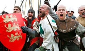 Scottish footsoldiers relive their Bannockburn triumph over