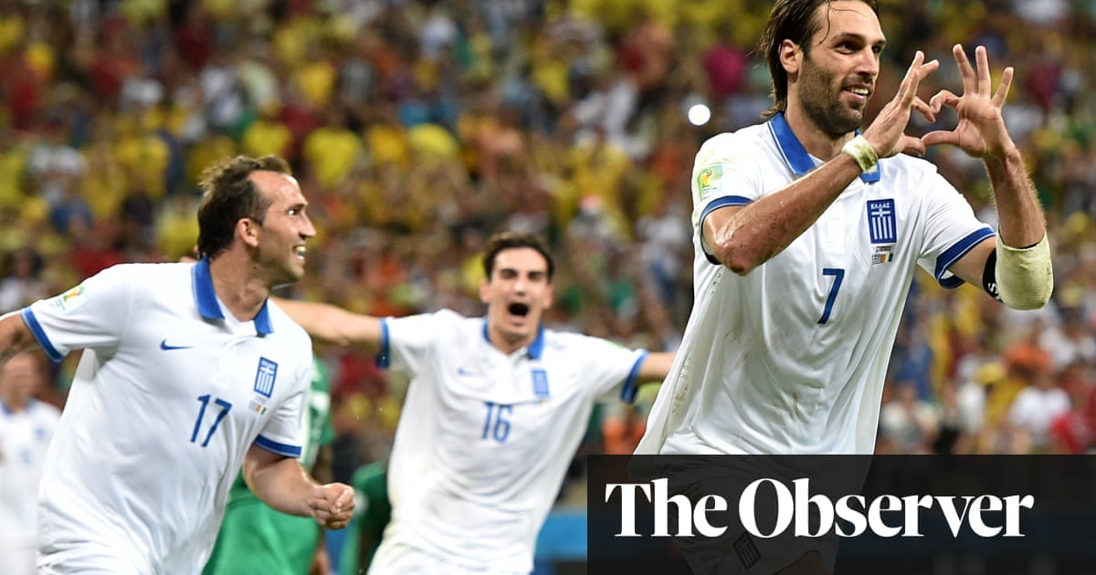 28e62a09211 World Cup 2014  Greece determined to defy the odds against Costa Rica