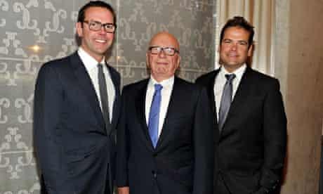 James Murdoch, Rupert Murdoch, Lachlan Murdoch