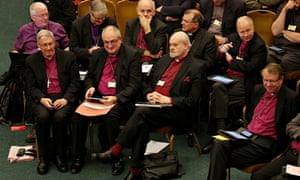 Bishops at the Church of England's General Synod last year.