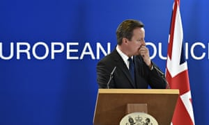 David Cameron said the job of keeping Britain in the EU had become harder after the vote on Jean-Cla