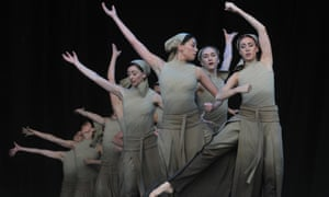 English National Ballet perform Lest We Forget at Glastonbury