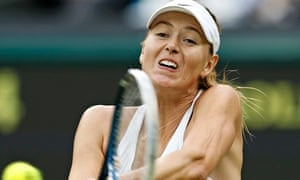 Tennis player Maria Sharapova: would a male star get the same treatment from journalists?