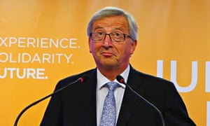 Jean-Claude Juncker, who was nominated by EU leaders as the next European commission president