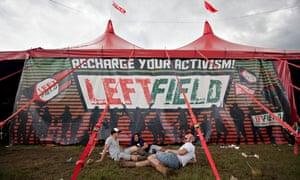 The Leftfield stage at Glastonbury 2014