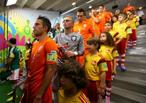 sport.: Netherlands v Mexico: Round of 16 - 2014 FIFA World Cup Brazil