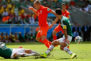 sport-: Round of 16 - Netherlands vs Mexico