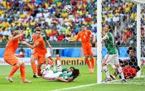 sport--: Netherlands v Mexico: Round of 16 - 2014 FIFA World Cup Brazil
