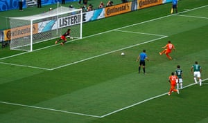 sport/: Klaas-Jan Huntelaar of the Netherlands