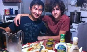 This undated photo found on the VK page of Dias Kadyrbayev shows Kadyrbayev, left, with Boston Marathon bombing suspect Dzhokhar Tsarnaev.