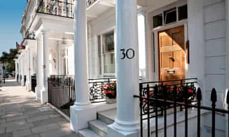 Georgian terraces in west London