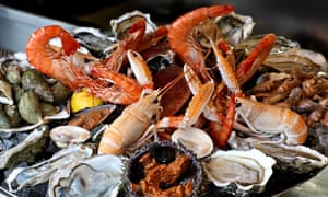 Dessirier shellfish platter