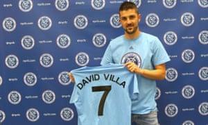 David Villa, New York City FC.