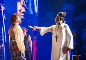 Michael Spyres as Benvenuto Cellini and Willard White as Pope Clement Vll.
