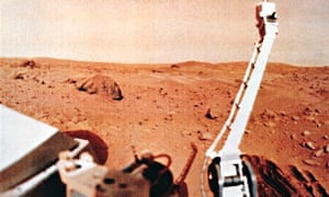 The surface of Mars, seen from Viking 1, 1976.