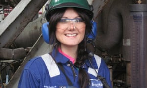 Women in engineering: Catriona Sutton, 26, offshore chemist, Intertek