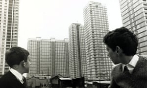 Red Road developments in Glasgow, 1967