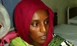 Meriam Yahya, on death row for marrying a Christian and refusing to convert back to Islam, in prison