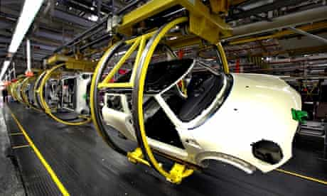 Car Production At The BMW Mini Factory