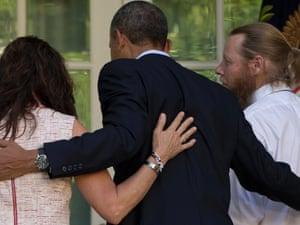 obama bob bergdahl white house