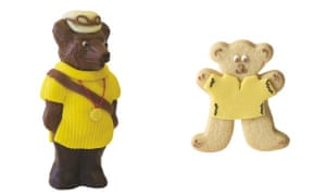 Bettys chocolate bear and biscuit