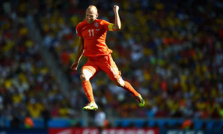 Did Arjen Robben dive to help Holland knock Mexico out of the World Cup?    World Cup 2014   The Guardian