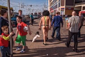 Blackpool 2013. Mankini.