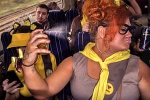 Blackpool 2013. On the Train.