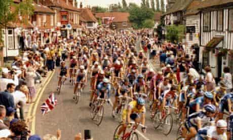 TOUR DE FRANCE BIKE RACE IN ENGLAND, BRITAIN - 1994