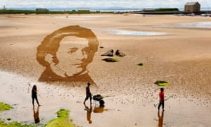 A giant portrait of Franz Schubert, one of the world   s most famous and revered Romantic composers was commissioned for the East Neuk Festival to highlight its Schubertiad weekend