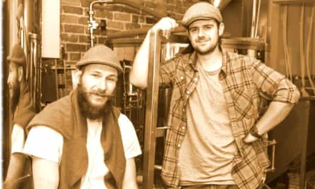 Some micro-brewers of Hackney.