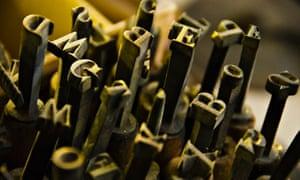 Press print fonts