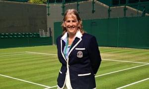 Bernadette Halton tennis umpire