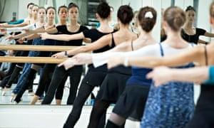 Bolshoi dancers at the Royal Opera House